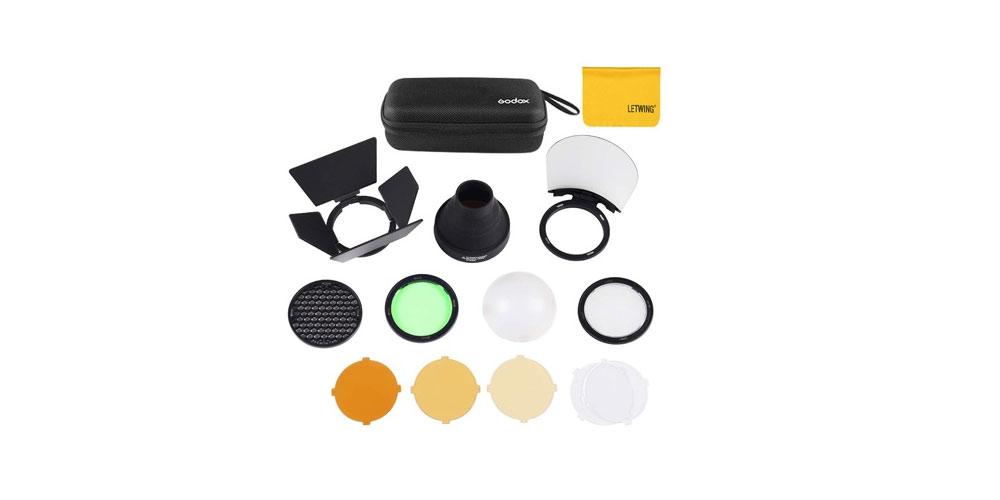 Godox AK-R1 Pocket Flash Light Accessories Kit Image