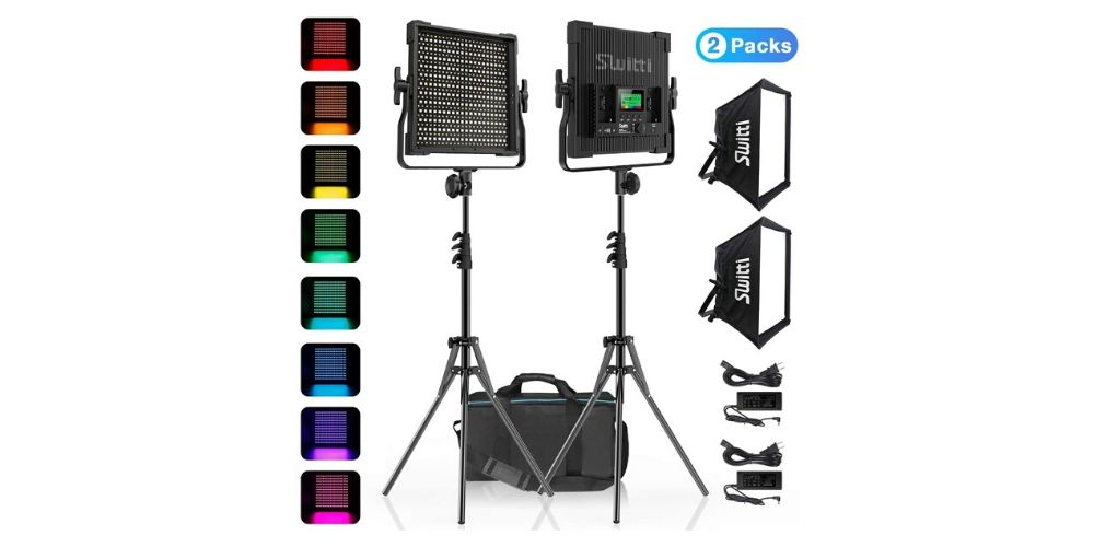 Switti S20 Professional LED Photography Light Kit Image