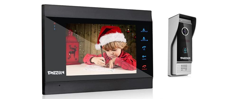 TMEZON 7-Inch Wireless Video Intercom System Image