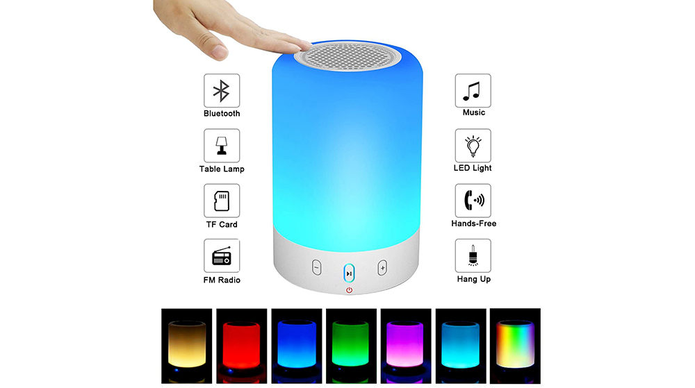 VOCH Night Light Bluetooth Speaker Image