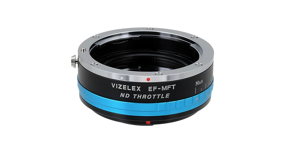 Vizelex ND Throttle Lens Mount Adapter Image
