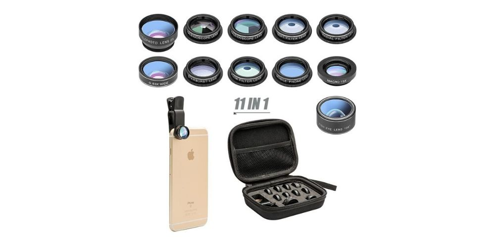 Mocalaca 11-in-1 Cell Phone Lens Kit Image