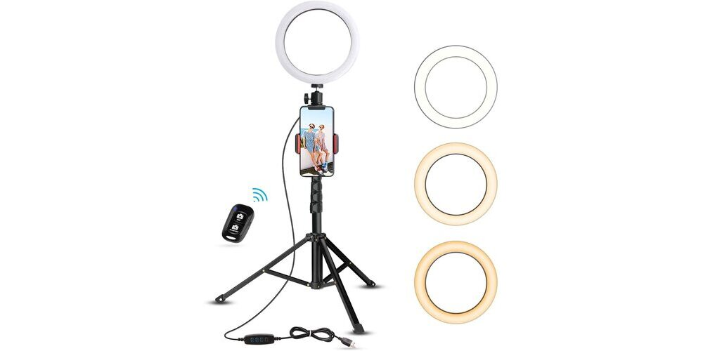 UBeesize Ring Light with Tripod Stand Image