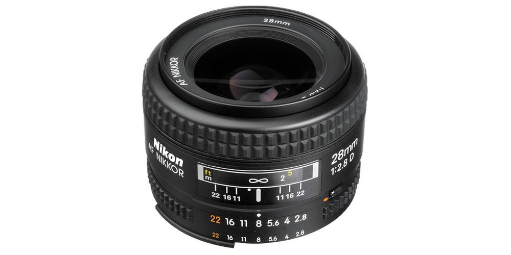Nikon AF NIKKOR 28mm f/2.8D Image