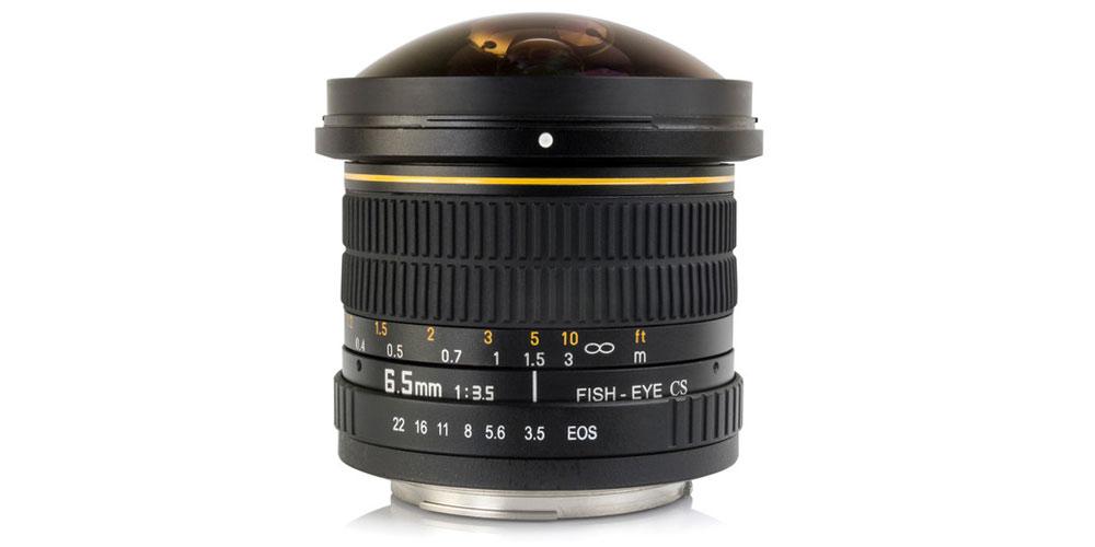 Opteka 6.5mm f/3.5 Fisheye Lens Image-1
