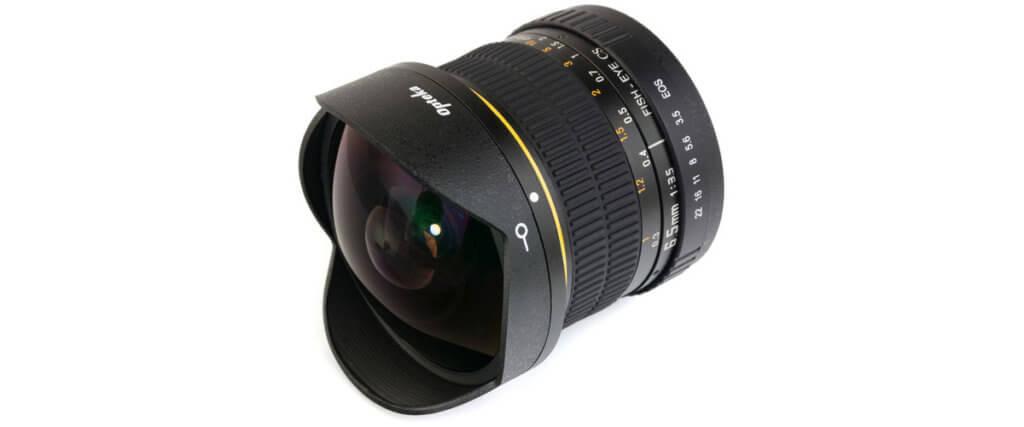 Opteka 6.5mm f/3.5 Fisheye Lens Image-3