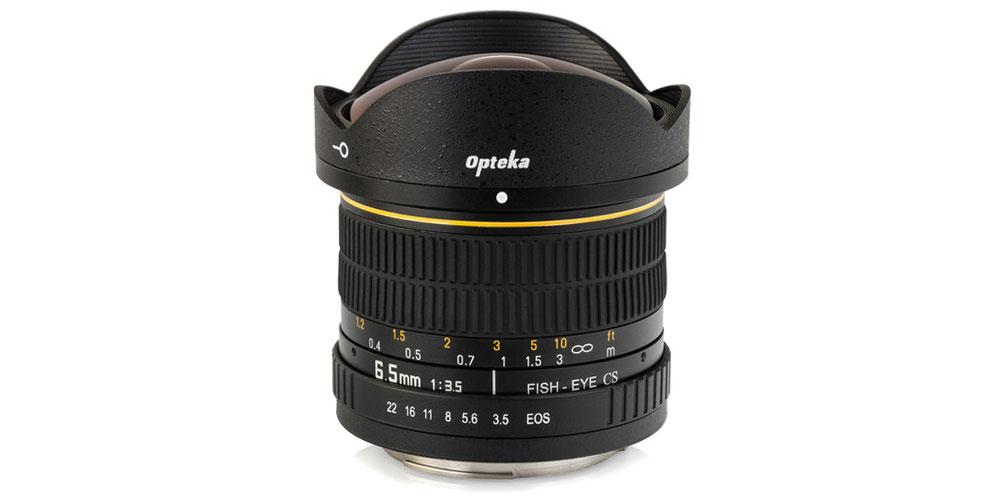 Opteka 6.5mm f/3.5 Fisheye Lens Image-2