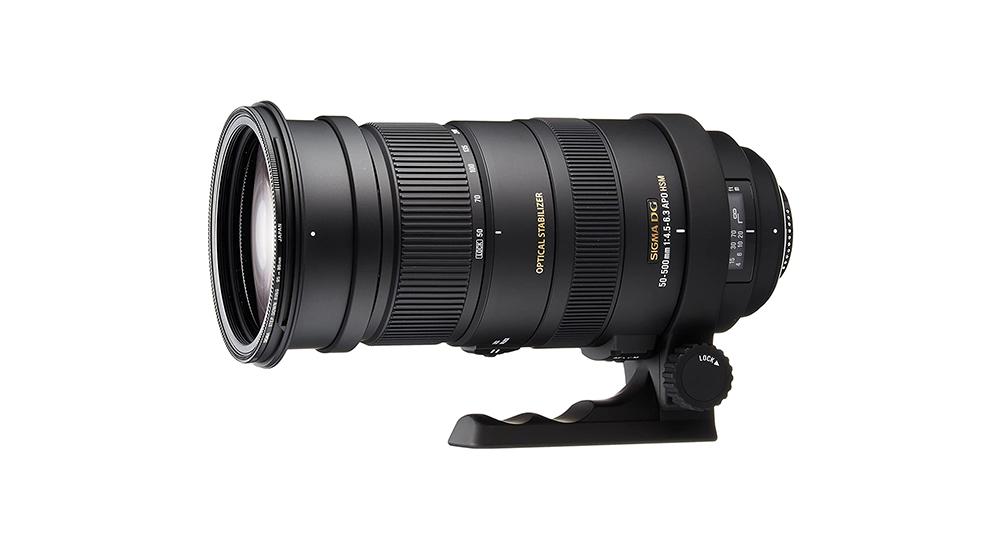 Sigma 50-500mm f/4.5-6.3 APO DG OS HSM Image