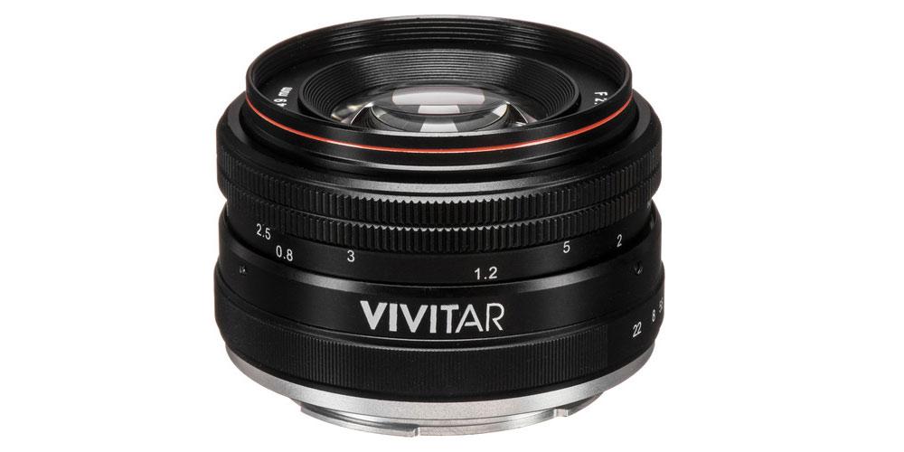 Vivitar 50mm f/2.0 Image