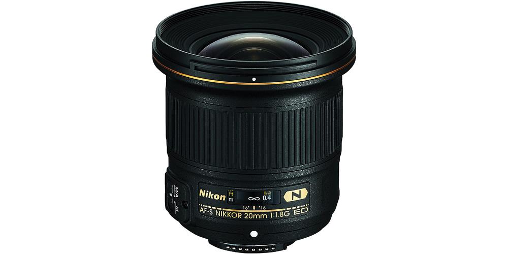 Nikon AF-S NIKKOR 20mm f/1.8G ED Image