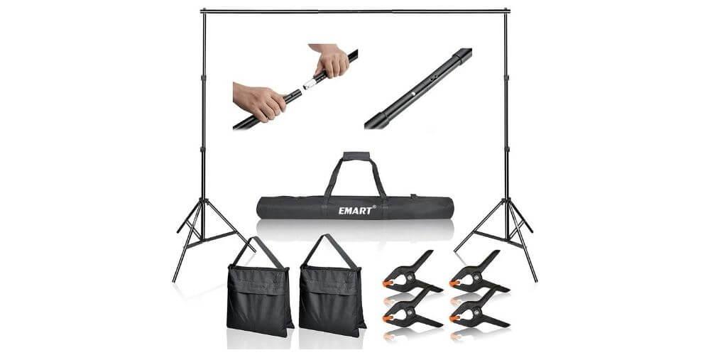 Emart Adjustable Background Stand Kit Image