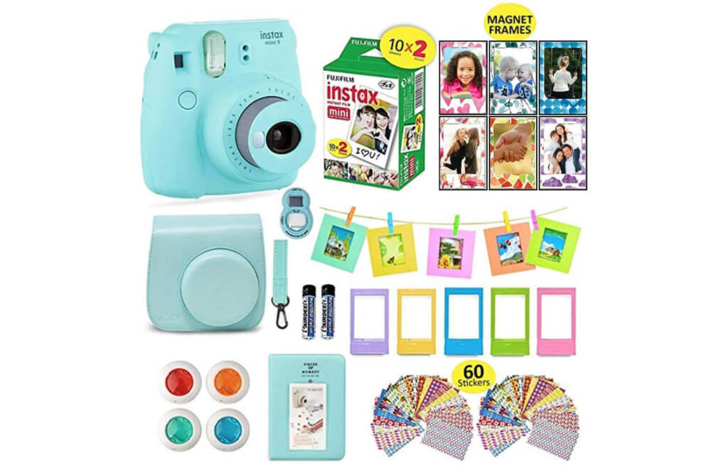 Fujifilm instax mini 9 Camera Bundle Image