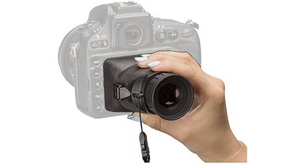 Hoodman HoodLoupe H30MB Camera Viewfinder Image