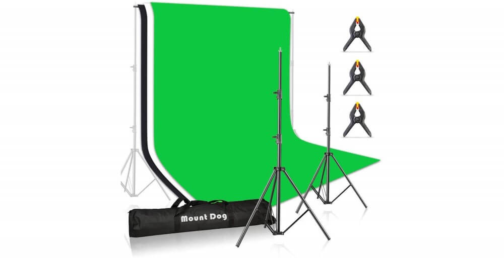MOUNTDOG Photo Backdrop Stand Kit Image