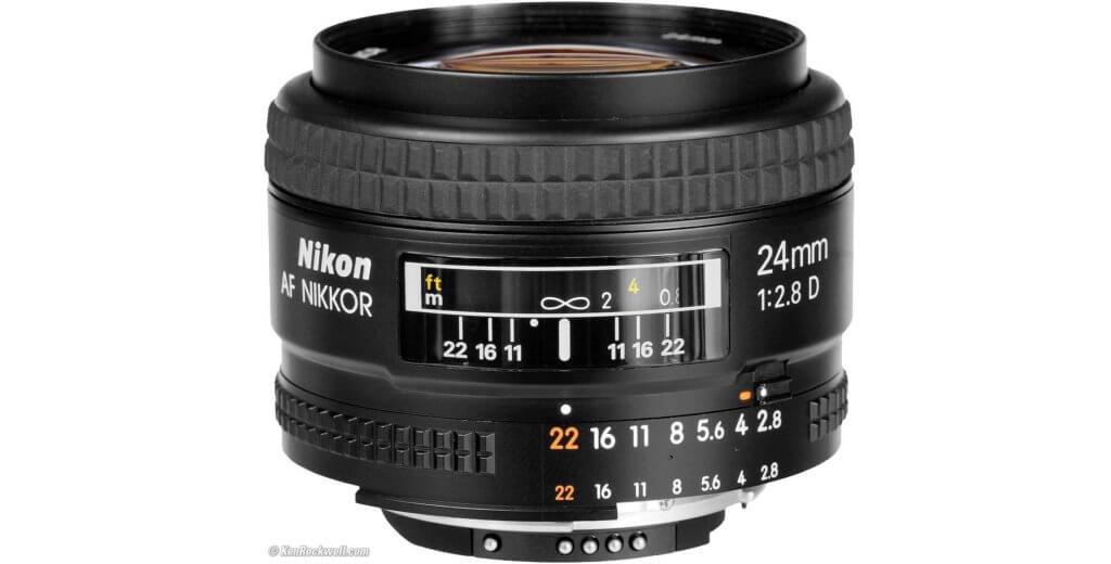 Nikon AF NIKKOR 24mm f/2.8D Image