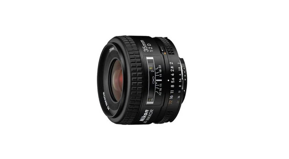 Nikon AF NIKKOR 35mm f/2D Image