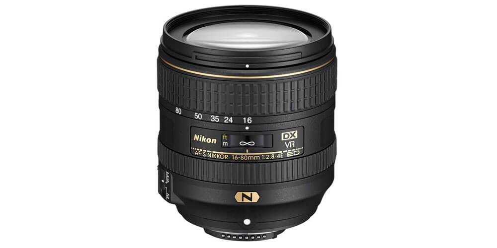 Nikon AF-S DX NIKKOR 16-80mm f/2.8-4E ED VR Image