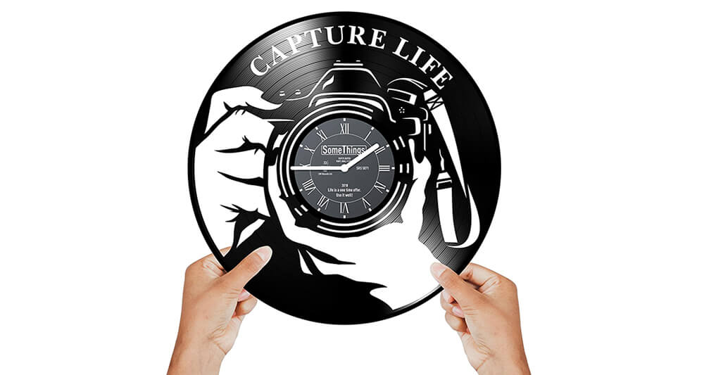 SomeThings Photographer Clock Image