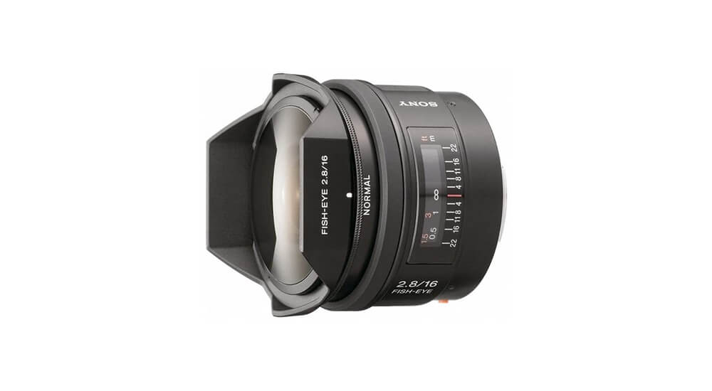 Sony 16mm f/2.8 Fisheye Image