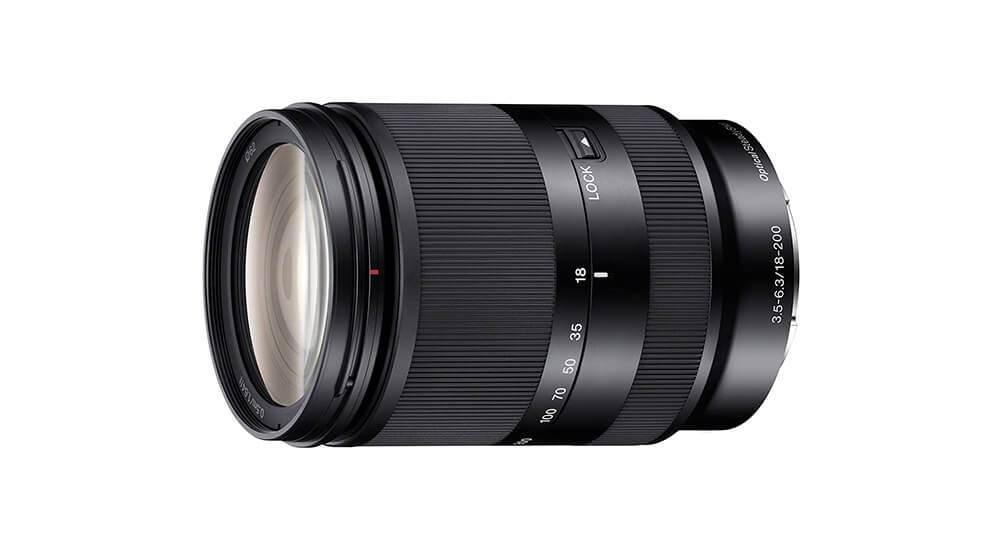 Sony E 18–200mm f/3.5–6.3 OSS LE Image