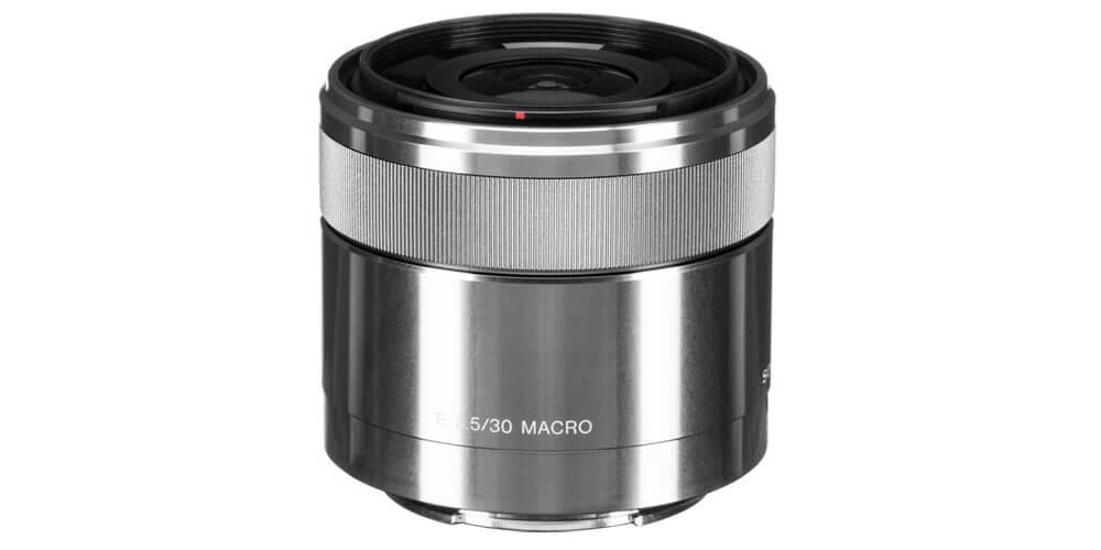 Sony E 30mm f/3.5 Macro Image