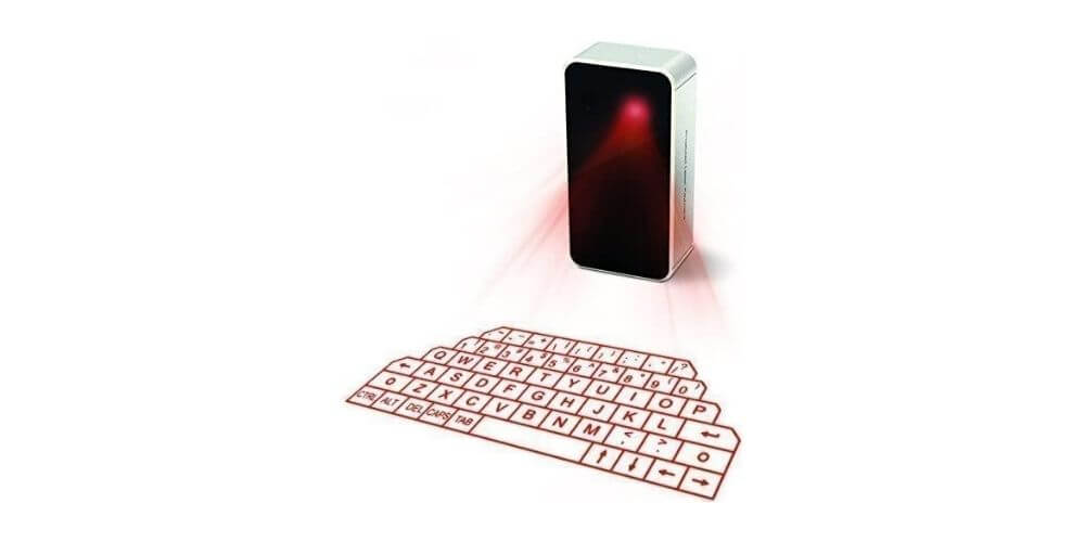 AGS Wireless Laser Projection Bluetooth Virtual Keyboard Image