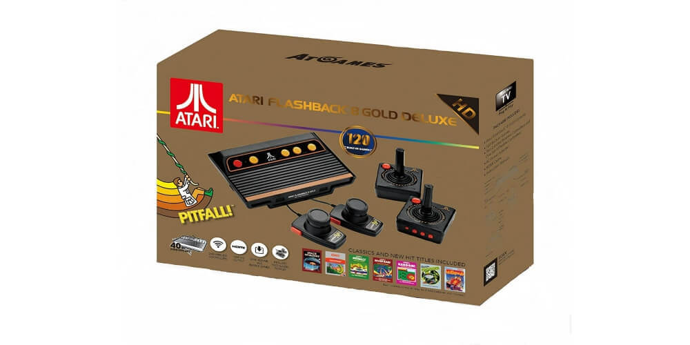 Atari Flashback 8 Gold HD Image