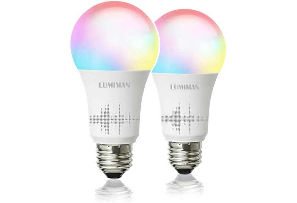 LUMIMAN Wifi Color Changing Smart LED Light Bulbs Image