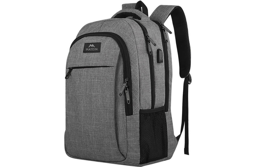 Matein Mlassic Travel Laptop Backpack Image