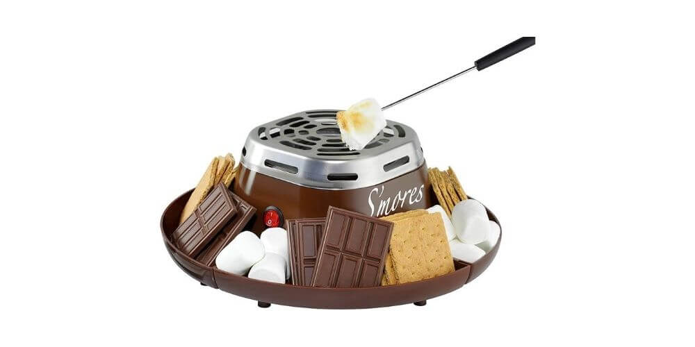 Nostalgia Indoor Electric Stainless Steel S'mores Maker Image