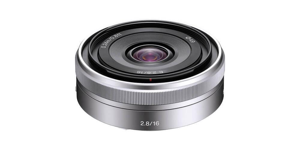 Sony E 16mm f/2.8 Image