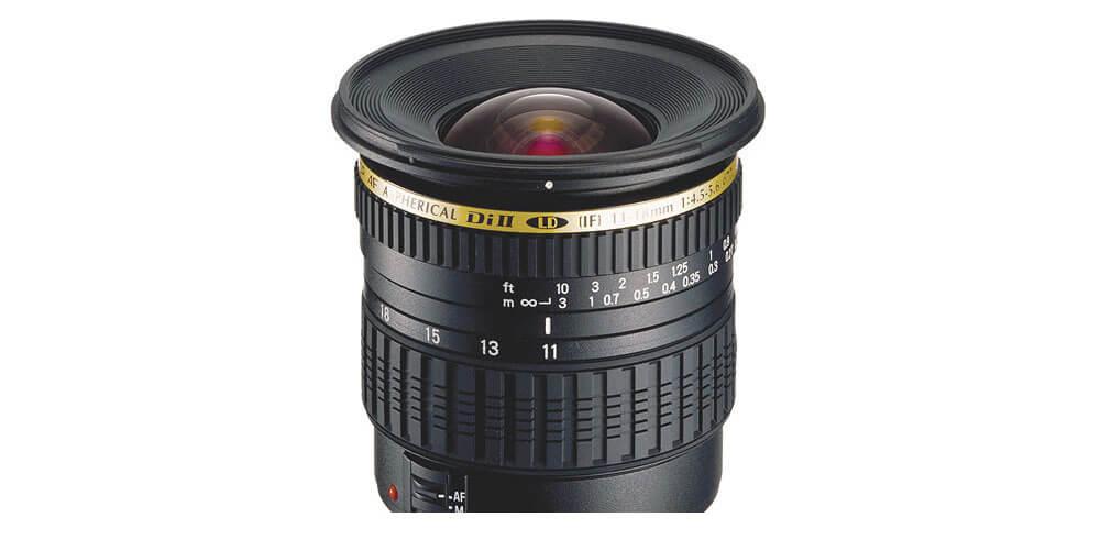 Tamron SP AF 11-18mm f/4.5-5.6 Di II LD Aspherical (IF) Image