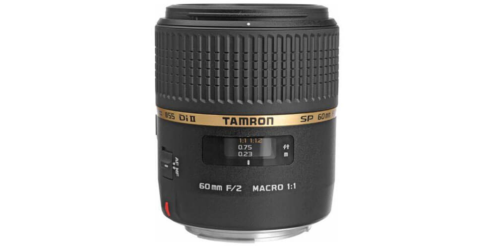 Tamron SP AF 60mm f/2 Di II LD [IF] MACRO 1:1 Image