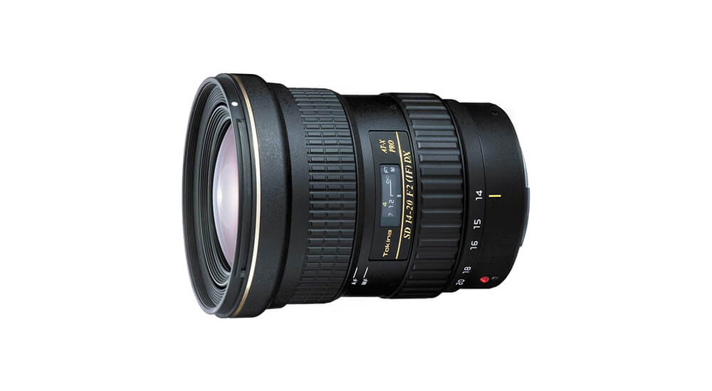 Tokina AT-X 14-20mm f/2 PRO DX Image
