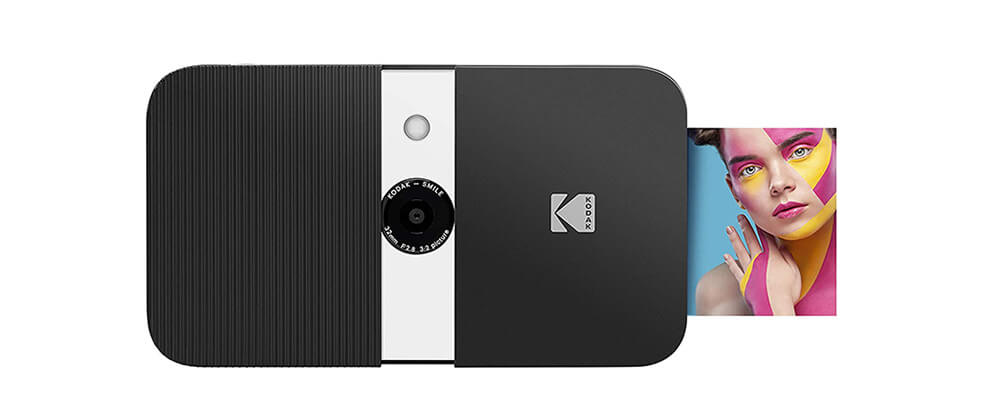 KODAK SMILE Instant Print Digital Camera Image