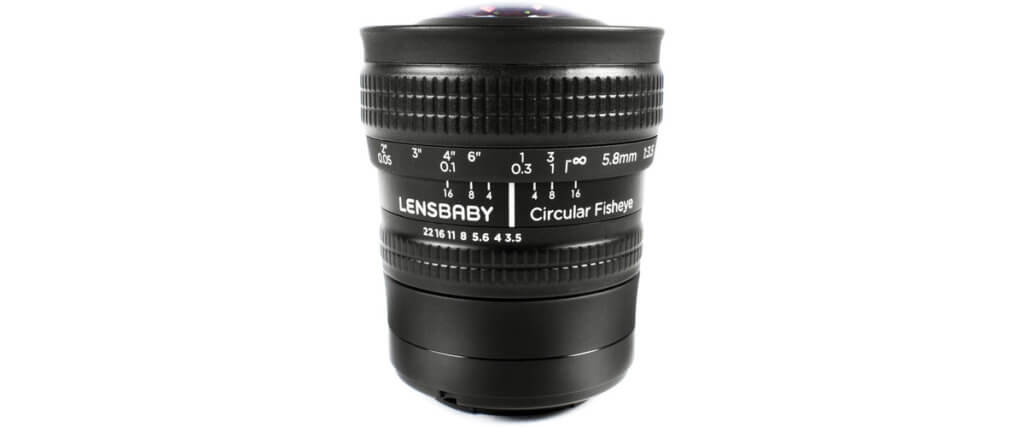 Lensbaby 5.8mm f/3.5 Circular Fisheye Image