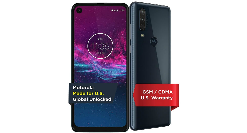 Motorola One Action Image