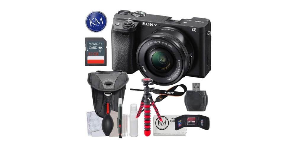Sony a6400 Camera Bundle Image